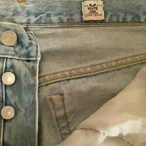 😎 Levi's 501 selvedge, skinny, distressed jeans